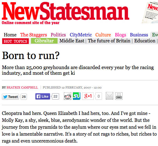 New Statesman: Born To Run by Beatrix Campbell