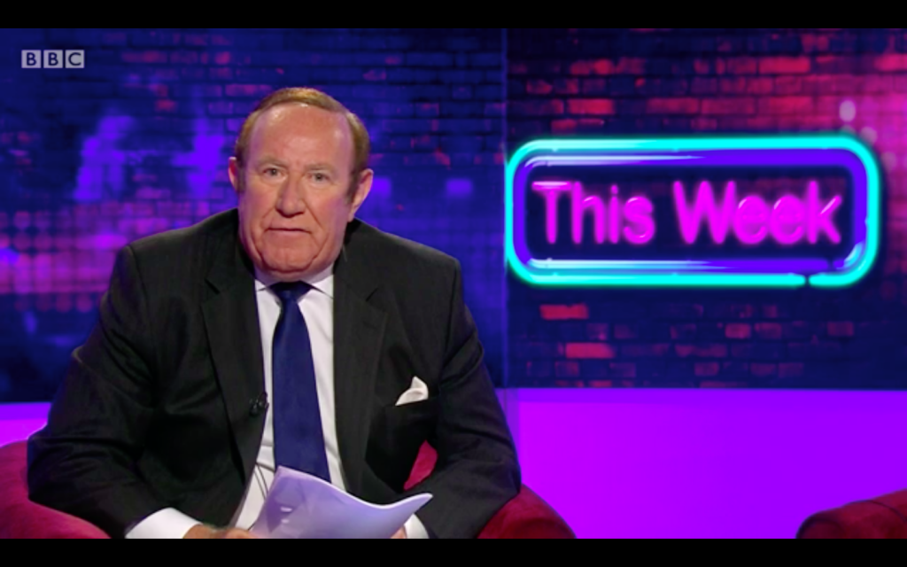 Andrew Neil rant, This Week